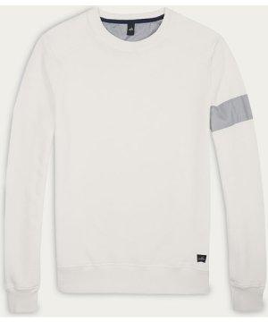 Ivory White Moore Crew Neck Sweater