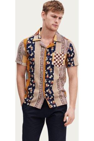 Cuban Short Sleeve Shirt | Shiba Stripe