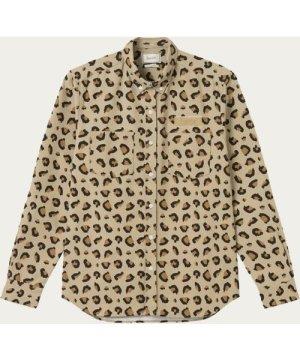 Leo Khaki Bear Shirt