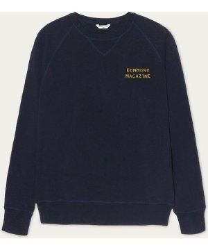 Navy La vie Simple Fishing Sweatshirt