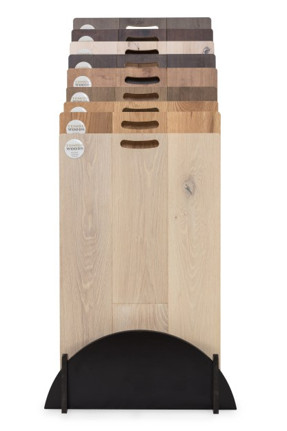 Tesoro Woods Display Step Rack 1