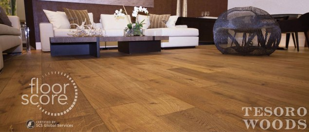 Tesoro Woods | A Homeowner's Green Wood Flooring Guide | FloorScore and VOCs in Flooring