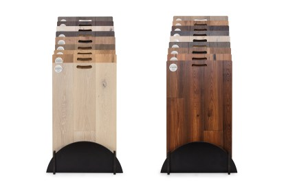 Tesoro Woods Display All Step Racks