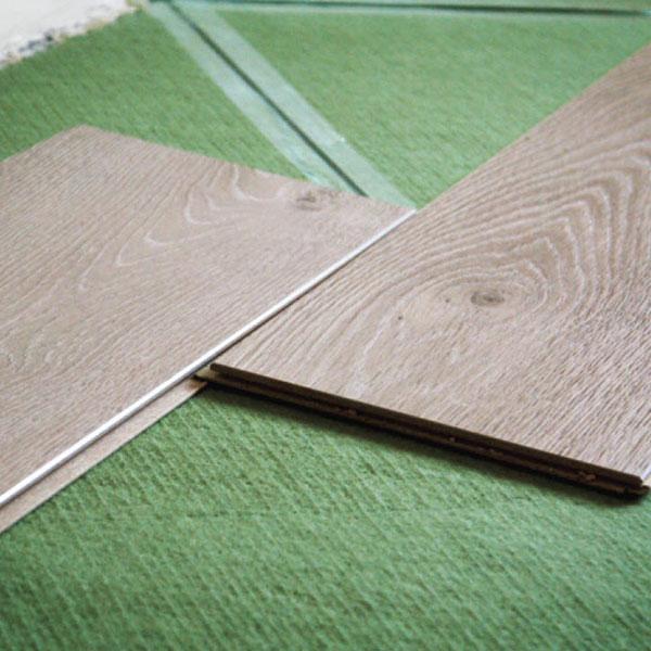 STEICO Underlayment Tesoro Woods Wood Fiber Floating Floor Underlayment