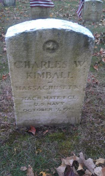 Charles W. Kimball, grave Portsmouth, VA