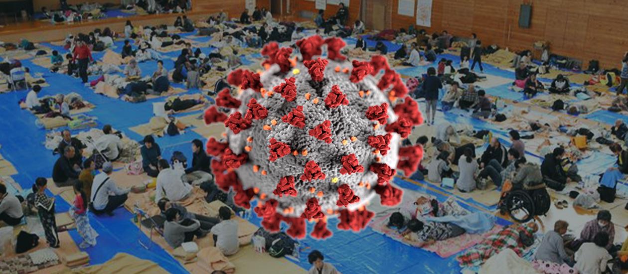 Coronavirus and typhoon shelters
