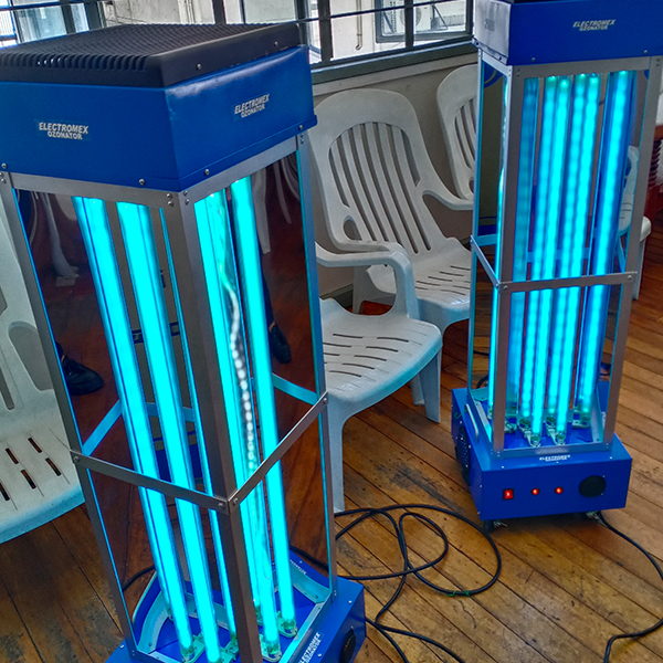 Electromex ultraviolet ozone sterilization for the new normal