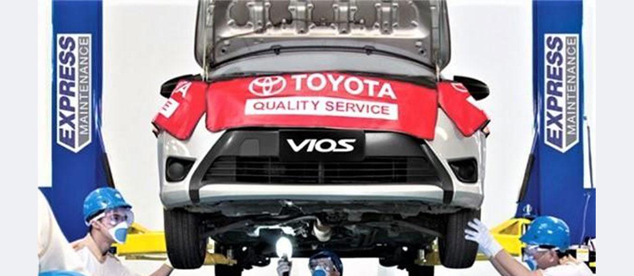 Toyota Change Oil Promo