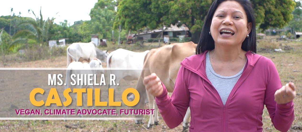 Shiela R. Castillo, a vegan climate advocate and futurist