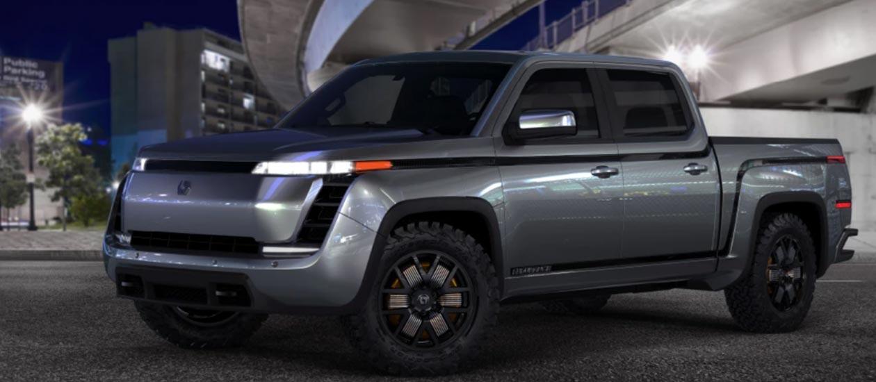 the world's first full-EV pickup Endurance