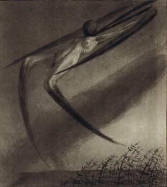 Jede nacht besucht uns ein traum by Alfred Kubin