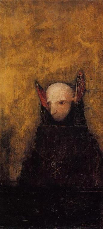 The Monster by Odilon Redon