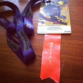 My Dragon Con 2014 Badge