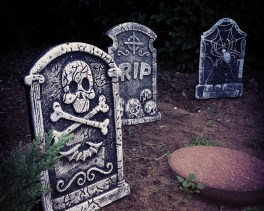 Graves of Past Trick or Treaters