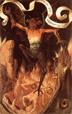 Hell by Hans Memling
