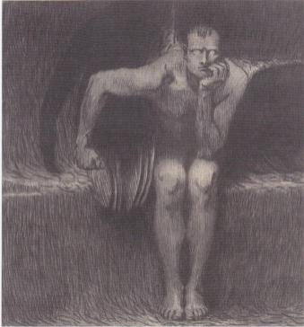 Lucifer by Franz Stuck