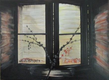 Night Window - 18x24 - $100