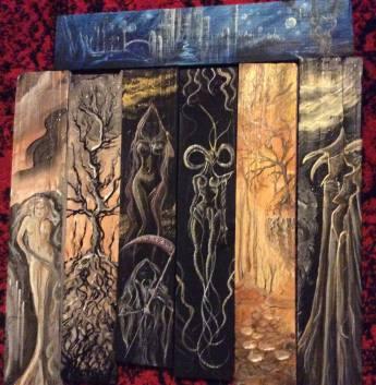 Wood Panel Set 3