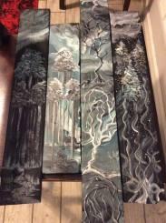 Wood Panel Set 1