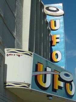 ufo theater marquee from morguefile.com