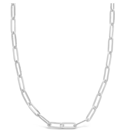 Tessories Paperclip Necklace
