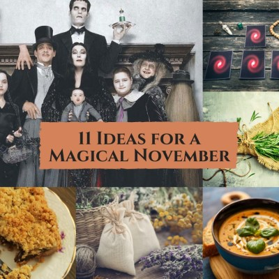 11 Ideas for a Magical November