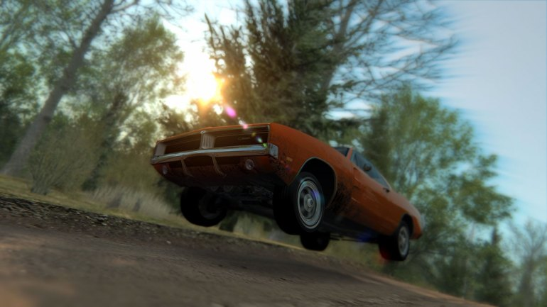 Dodge Charger RT salto in Assetto Corsa