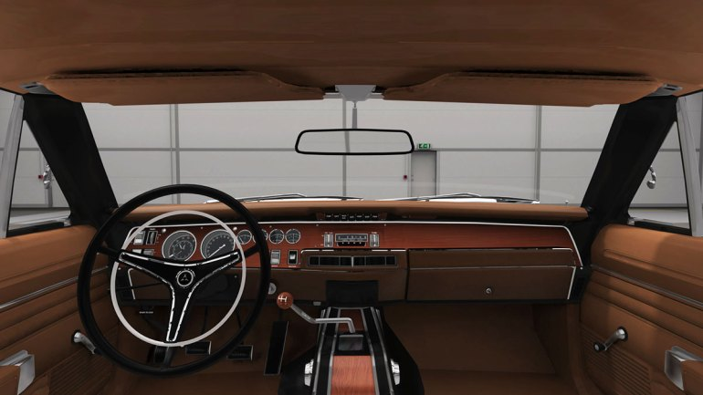 Interni Dodge Charger RT in Assetto Corsa