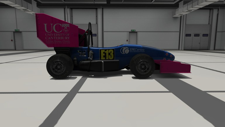 La UCM 2016 FSAE in Assetto Corsa