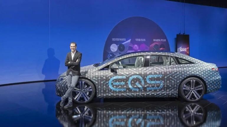 Nuova Mercedes EQS presentata