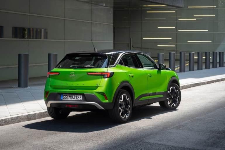 Opel Mokka elettrico