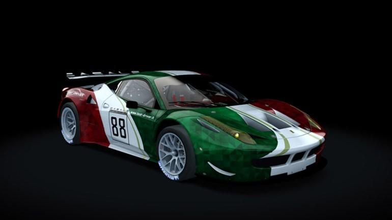 Test-Driver Assetto Corsa skin pack Ferrari 458 gt2 04