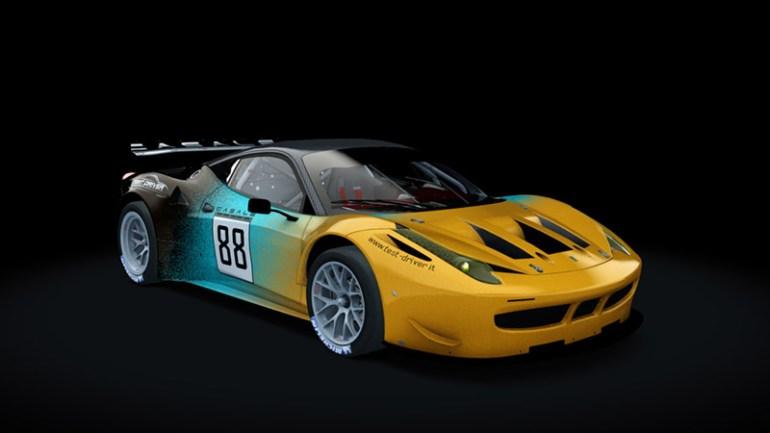 Test-Driver Assetto Corsa skin pack Ferrari 458 gt2 05