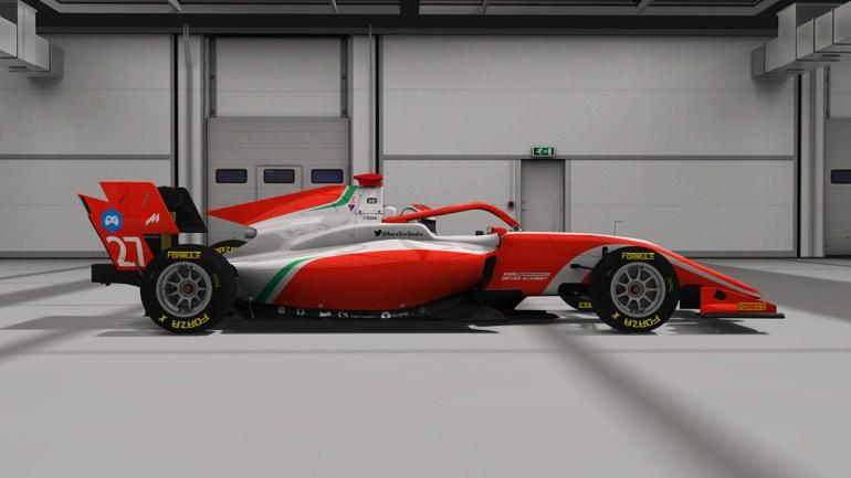 Vista laterale Formula RSS 3 V6 mod Assetto Corsa