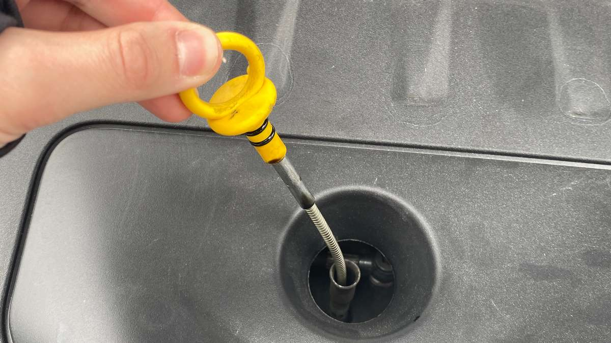 Asticella controllo olio motore