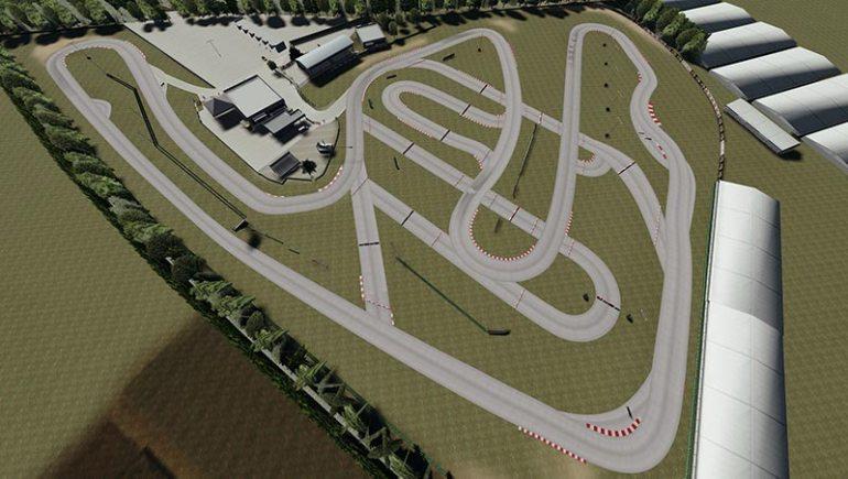 Circuito del Sele mod per Assetto Corsa vista dall'alto