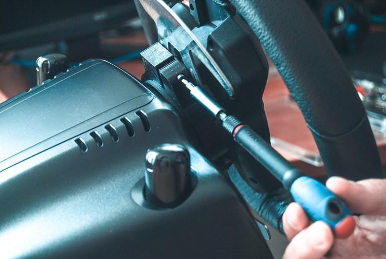 mod 3drap cambio al volante G25 G27 G29 G920 G923 montaggio
