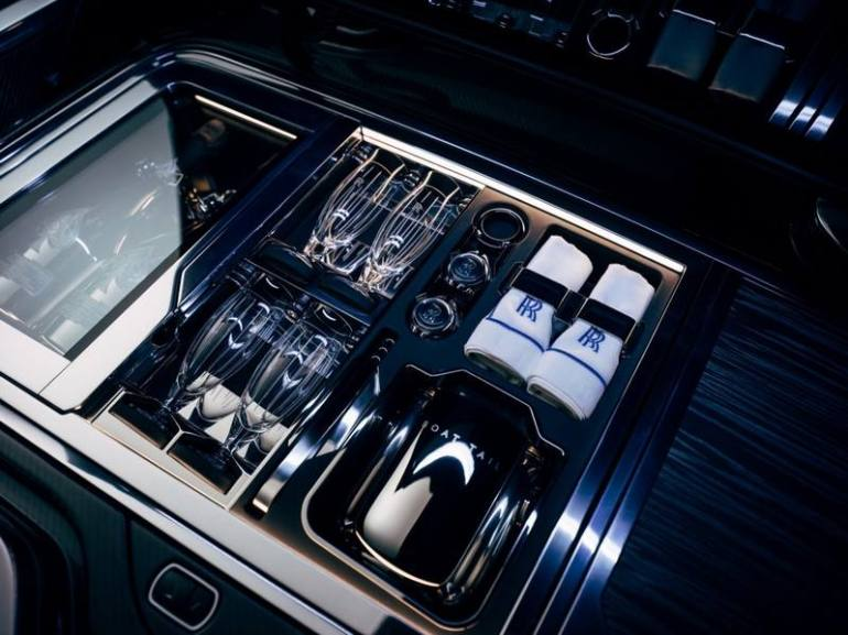 Kit da pic nic auto Rolls Royce