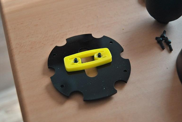 montaggio piastra Mod cambio H SEQUENTIAL SHIFTER HANDBRAKE per Logitech G29 G920 G923 G25 G27 by 3DRap