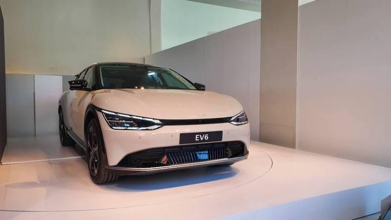 Cofano corto Kia EV6
