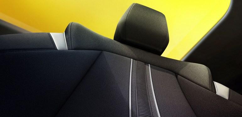 I sedili della nuova Opel astra 2021