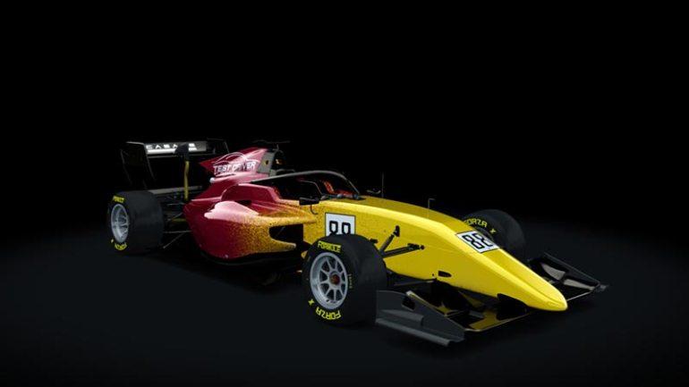 Secondo skin pack Test driver Formula RSS 3 v6 skin 01