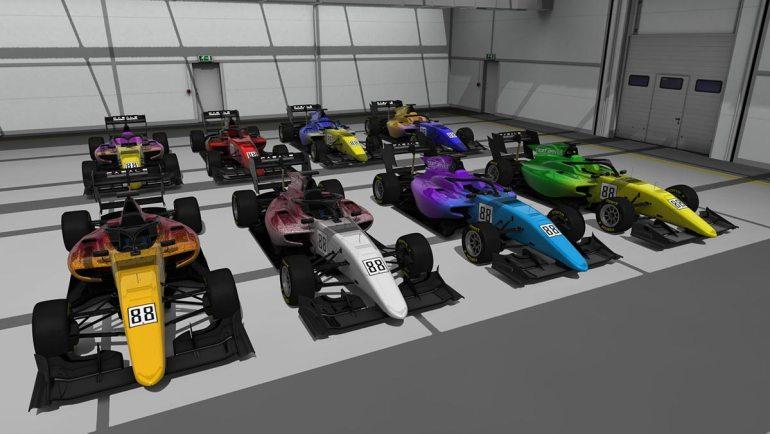 Secondo skin pack Test driver Formula RSS 3 v6