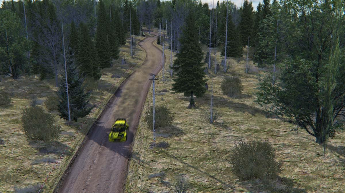 Forest Rally mod per Assetto Corsa