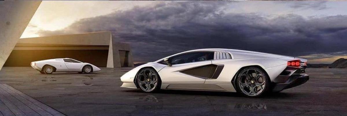 Nuova Lamborghini Countach 2022
