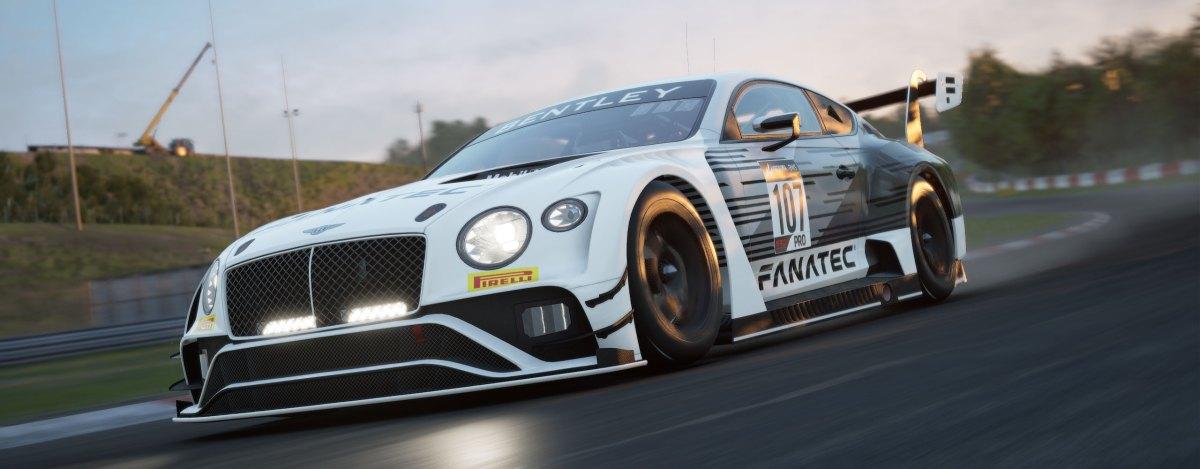 La Bentley Continental GT3 su Assetto Corsa Competizione