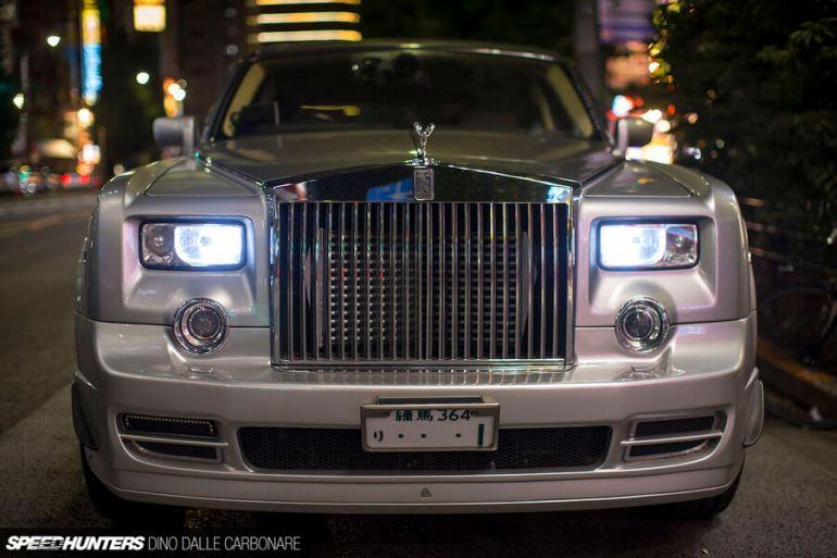 Frontale Rolls-Royce