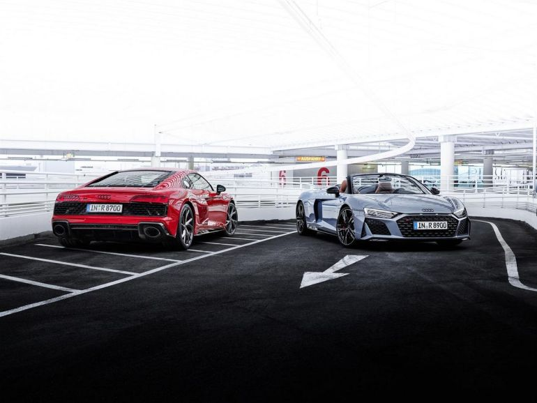 Nuova Audi R8 RWD 2022