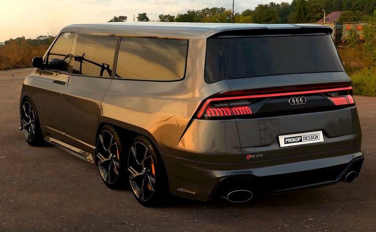 Posteriore Audi RS99 render