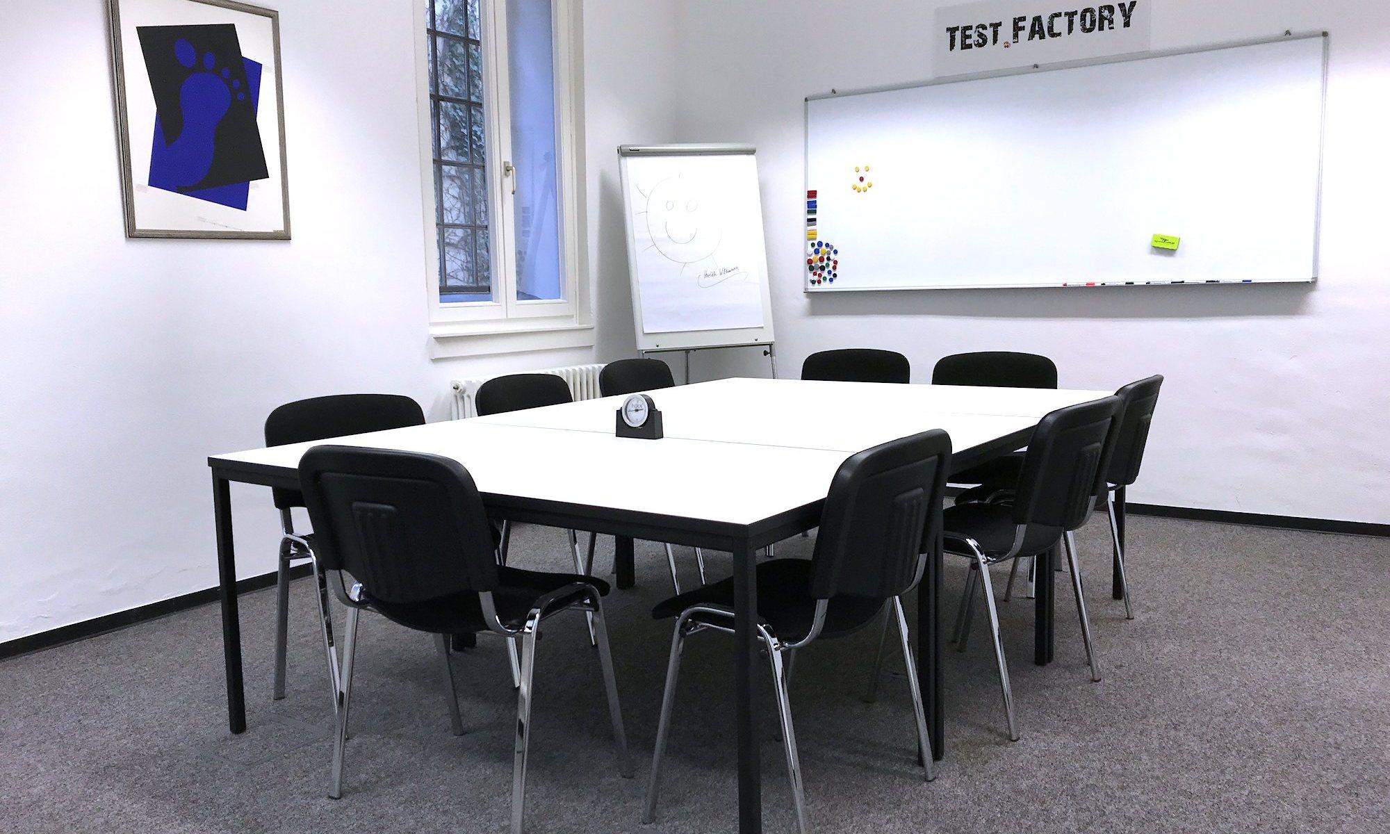 Test.Factory: Gruppenraum